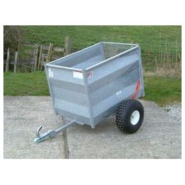 "48"" ATV Livestock Trailer with Solid Pressed Steel Sides"