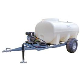 5000L Site Tow Interpump Pressure Washer Bowser - 13LPM - 2900PSI - Petrol - Recoil Start