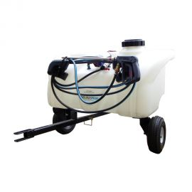 90L Pro Zero-Turn Spot Sprayer - 8.3L/min Pump, Pressure Regulator & Gauge, 6m Hose & Hand Lance