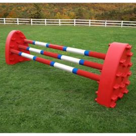 Hedgehog Jump with 3 Poles (Professional 10ft wide poles)