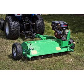 1.2m (Rear Wheel Adjustable) ATV Flail Mower - 15hp Loncin Engine