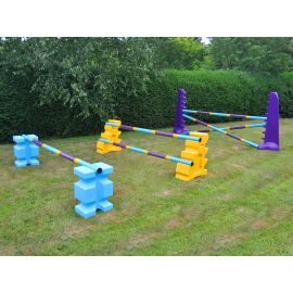 Club Jump Set - 3 Fence (Club Style)
