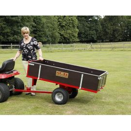 2 Wheel Timber Tipping Trailer - SCH GWTS10