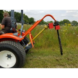 """6"""" Tractor Mounted Post Hole Borer"""