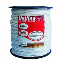White 5mm Rope 200m