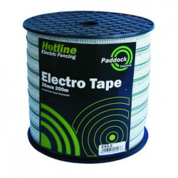 20mm Paddock Tape 200m
