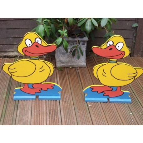 Pair Of Spooky Duck Fillers