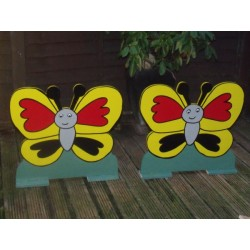 Pair Of Spooky Butterflys