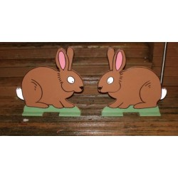 Pair Of Spooky Rabbit Fillers