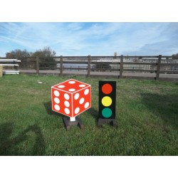 2D Dice +Traffic Light Stand Filler Set