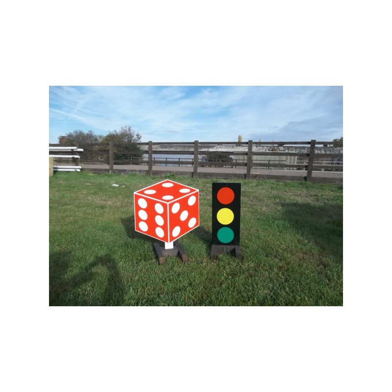 Box Jumps For Sale >> 2D Dice +Traffic Light Stand Filler Set