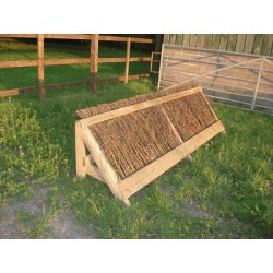 "Cross Country Jumps - ""Sloping Brush Fence"