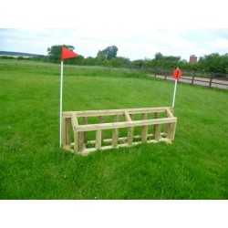 "Cross Country Jumps - ""Double Palisade"