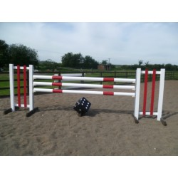 BSJA Show Jumps - Red Bar + Dice Set