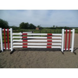 BSJA Show Jumps - Pole Wall Set