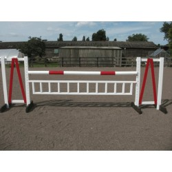 Show Jumps - Set E - 5ft Wings, 10ft Pole, 10ft Hanging Ladder + Cups (Rustic or Painted Options)