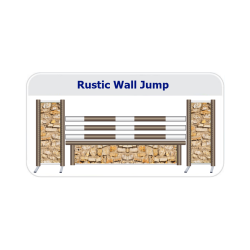 Rustic Wall Working Hunter Fence