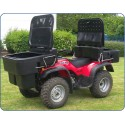 JFC ATV-CBD , ATV Front Carrier Box Open 200Ltr