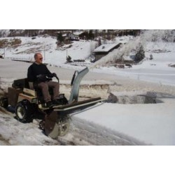 Cerruti Compact Two Stage Snow Blower PTO DRIVEN