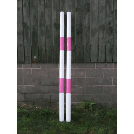Show Jumps - Painted poles - from