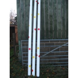 Show Jumps - Spotted poles - from