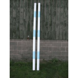 Premium Heavy Weight Timber Pole with End Cups