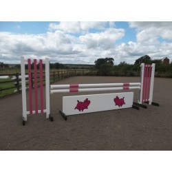 BSJA Show Jumps - Pink Pig Set