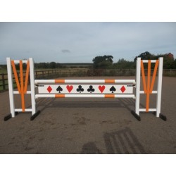 BSJA Show Jumps - Orange Card Set