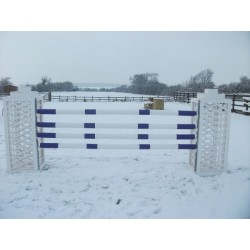Oxer Trellis Pillar Set