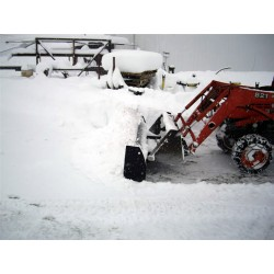 Snow Blade for Loading Bucket 10ft Wide