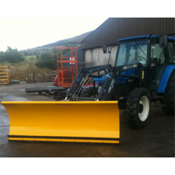 Tractor Front Loader Snow Plough 2.5m