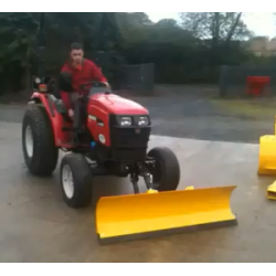 Tractor Snow Plough for a Compact Tractor- 1.5m
