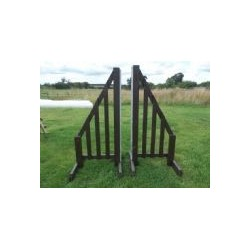 Show Jumps - BSJA Rustic Wings (Pair) - 4 ft Rectangular