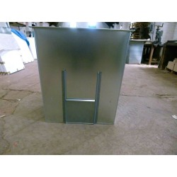 Coal Bunker 500kg Capacity Flat Pack