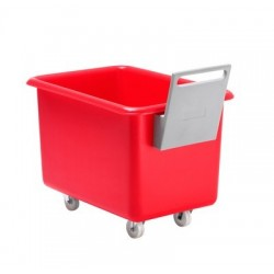 320 litre multi-purpose mobile container complete with plastic handle