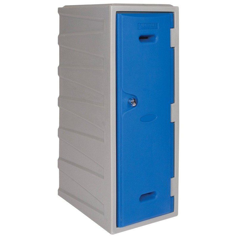 Large Plastic Locker With Key Operated Lock Horse Jumps