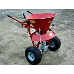 Manual spreader, 50 litre capacity