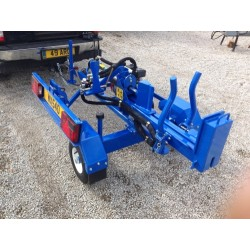 "Trailer Log Vertical and Horizontal Splitter 5HP Engine (24"" Bed Height) - 2' Log Width"