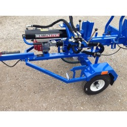 "Trailer Log Splitter 6HP Engine (27"" Bed Height) - 2' Log Width"