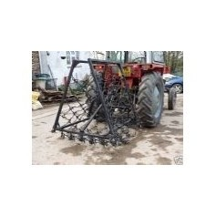 "13mm Double Length 7'6"" Professional Range- Fixed Folding Mounted Harrows"