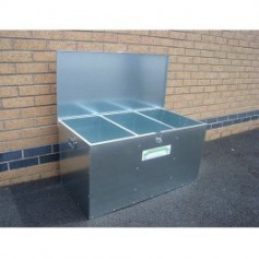 Galvanised Feed Bins