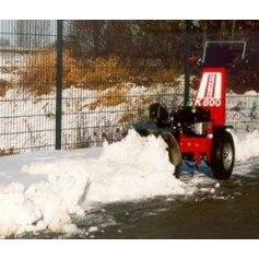 Pedestrian Operated Snow Ploughs