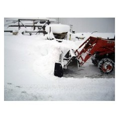 Loader Bucket Snow Ploughs
