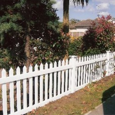 "8ft Wide x 48"" High - Vinyl Fencing"