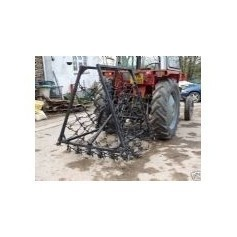11mm Standard 5' Deep- Fixed Folding Mounted Harrows