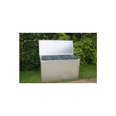 Assembled Galvanised Feed Bins