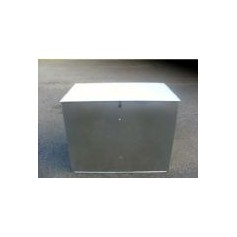 Galvanised Flat Pack Feed Bins