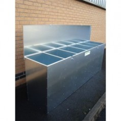 Galvanised Bulk Storage Bins