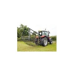 "13mm Double Length 7'6"" Professional Range- 3 Way Folding Mounted Harrows"