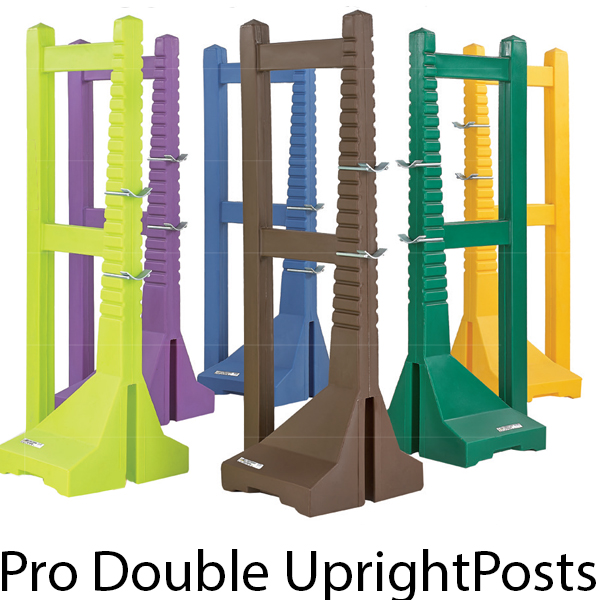 1.7m Pro Double Upright Posts